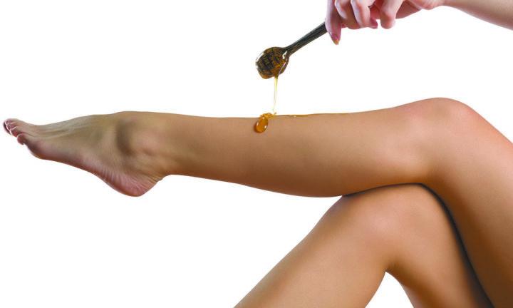 Сахарная паста для ног