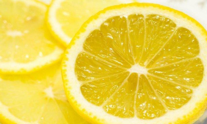 Лимон для пилинга губ
