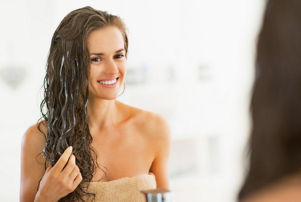 Маска пилинг для волос