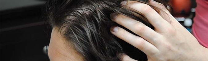 Делаем скраб для кожи головы