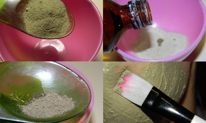 Ингредиенты для пилинга с бодягой