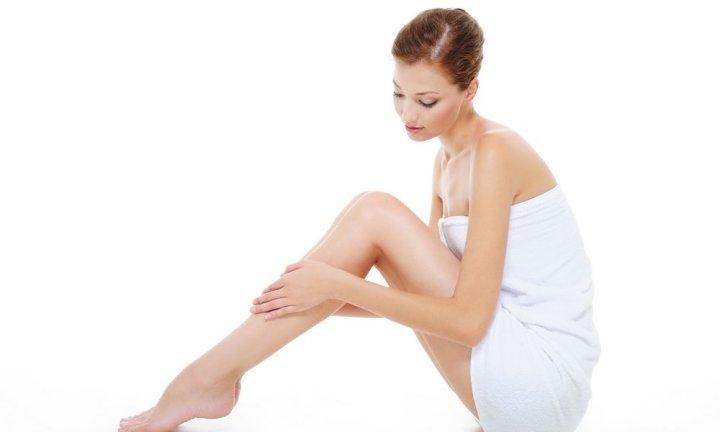 Увлажняем кожу после депиляцией