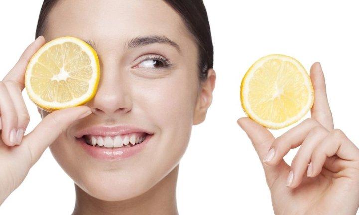 Эффект после лимонного пилинга