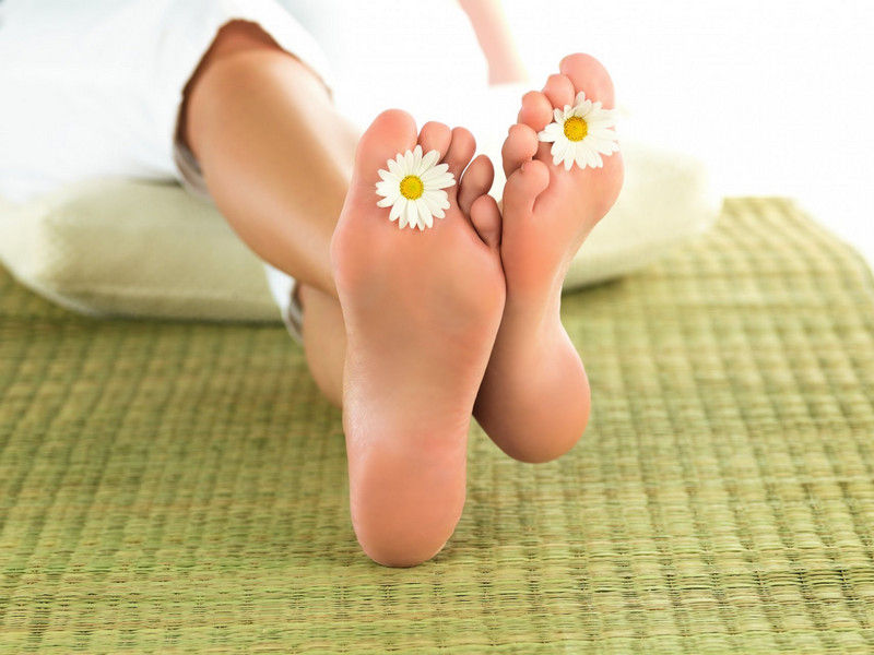 Пилинг ног