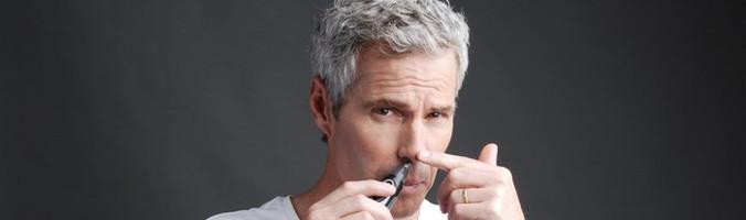 Убрать волосы в носу